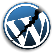 WordPress-logo-broken