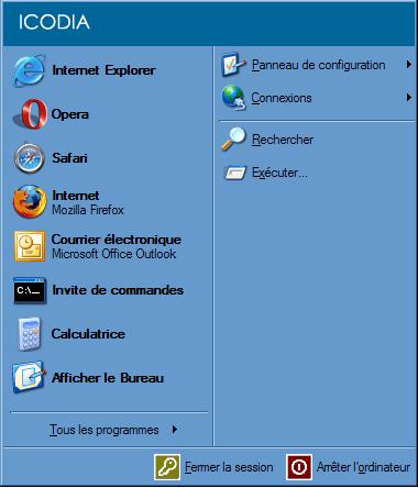 Telnet_windows XP : Ecran 1