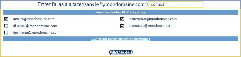 IcoAdmin_email : Ecran 2