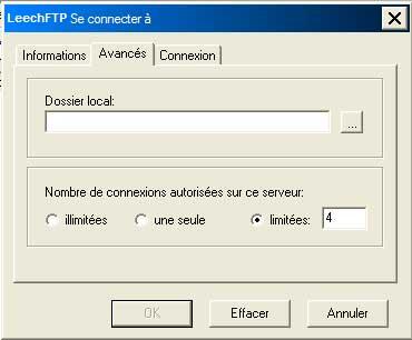 FTP_LeechFTP : Ecran5