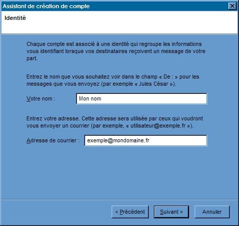 Configurer_Thunderbird : Ecran 5