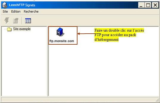 FTP_LeechFTP : Ecran 6