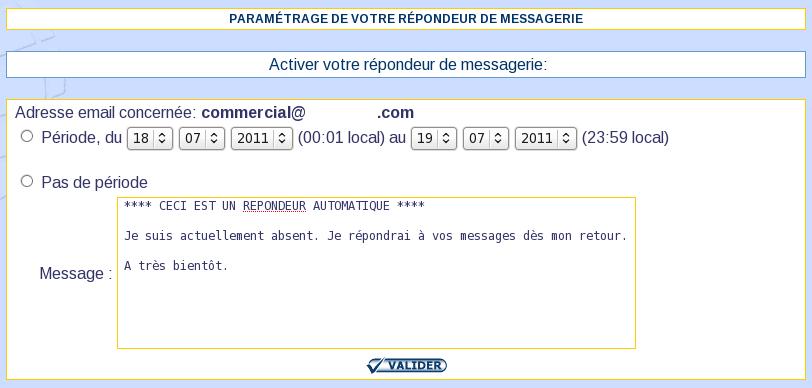 IcoAdmin_Répondeur : Ecran 2