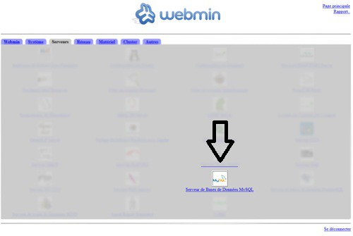 webMin_serveurs